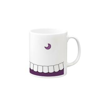歯りきり雑貨店の歯-HA purple Mugs