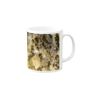 B_M_B  FOREST CAMOUFLAGE Mugs