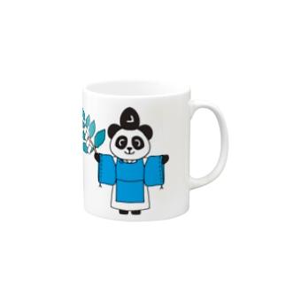 パンダ宮司とパンダ巫女 Mugs