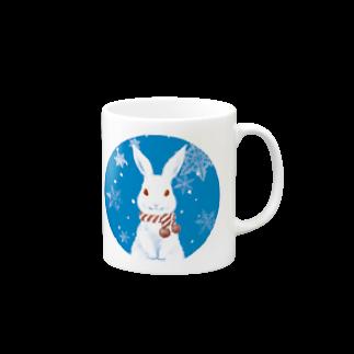 みやざきみいこのユキウサギ Mugs