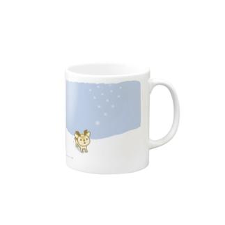 ボク鹿*winterマグ Mugs