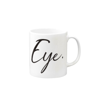 Eye.suzuri Black Mugs