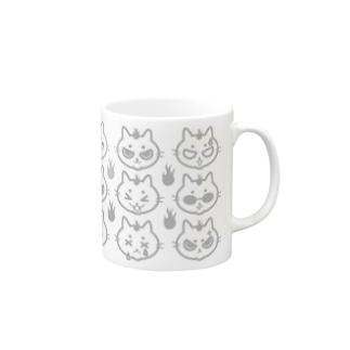 ニャー9変化 Mugs