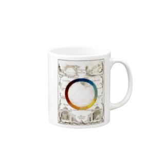 色の円環 - Getty Search Gateway Mugs
