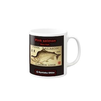 カラフトマス!清里(樺太鱒;PINK SALMON)生命たちへ感謝を捧げます。※価格は予告なく改定される場合がございます。 Mugs