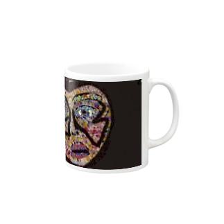 ハート Mugs