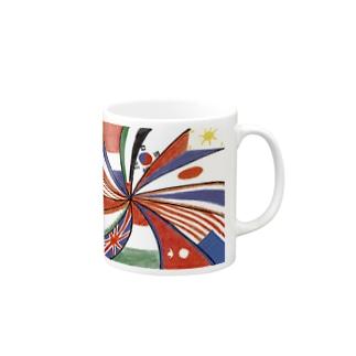 メニメニフラッグ Mugs