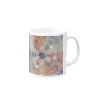 輝きをあなたに ブダチャ 曼荼羅 Mugs