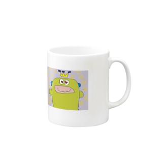 ぐるぐるパーチ― マグカップ