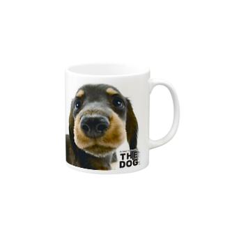 THE DOG[ダックスフンド] Mugs