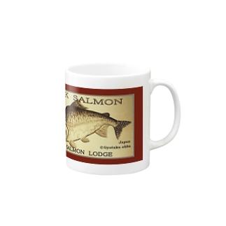 カラフトマス!羅臼【セッパリ;PINK SALMON】生命たちへ感謝を捧げます。※価格は予告なく改定される場合がございます。 Mugs