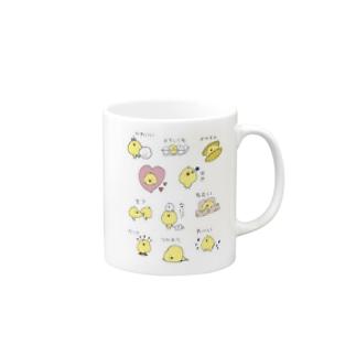 toririのたのしいマグカップ マグカップ
