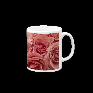 BeauToneのピンクローズ Mugs