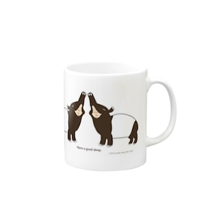 バク好きさんのためのマグカップ「バクカップ」 Mugs