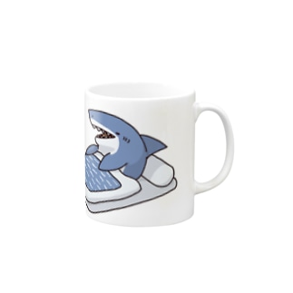 寝起きサメ Mugs