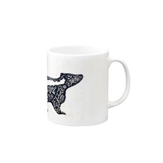 スカンク Mugs