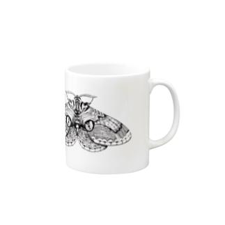 イボタガ Mugs