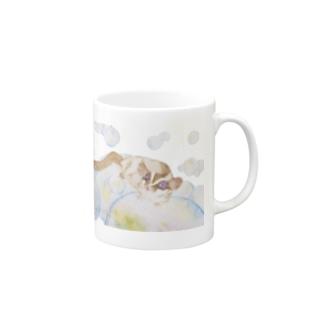 フクロモモンガVer.2&6 Mugs