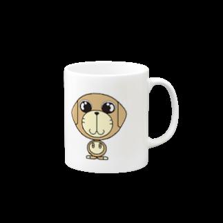 NTVの犬のディッキーマグカップ
