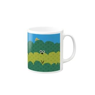 お茶畑くん マグカップ