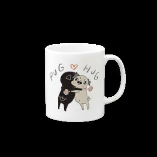 裏ひぐちのPUG ❤︎ HUG Mugs
