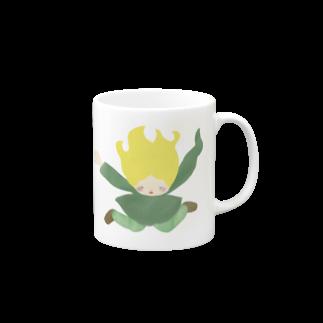 キューカンバー・ガールのキューカンバー・ガール (skydive) Mugs
