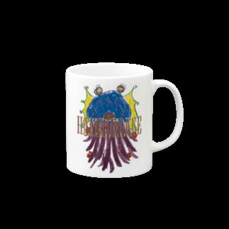 ICHITA_GAHAKUのHANEKURAGE2 Mugs