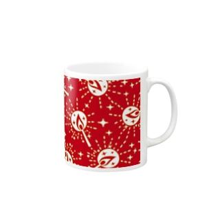 マッチの灯(赤) マグカップ
