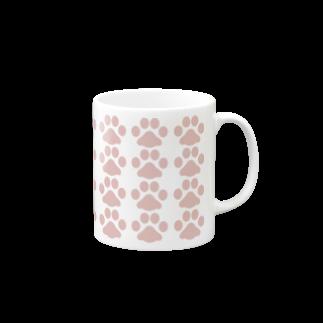 よっぴーの肉球(ピンク) Mugs