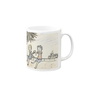 all summer long Mugs
