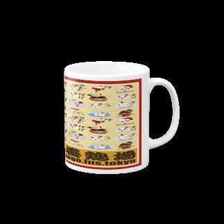 K2JAPANのKOBAYASHI CHICKEN FARM Ver1マグカップ