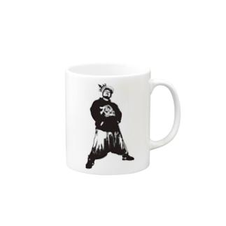 BENJOTAROモノトーン Mugs
