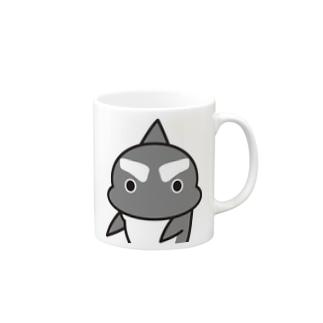 「まじか」 #シャチくん マグカップ