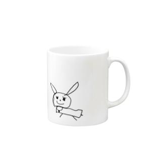 うさぎさん Mugs