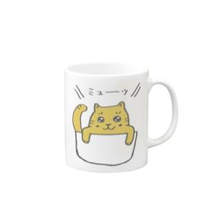 ねこ? Mugs