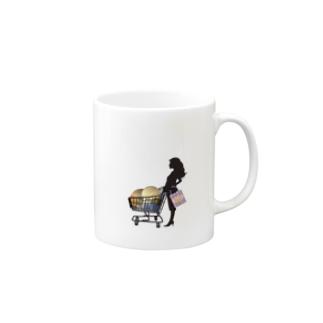 惑星ショッピング Mugs