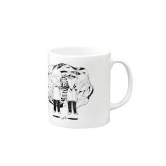 space in 紙 Mugs