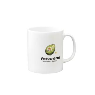 focarena on white background Mugs