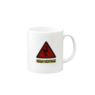HIGH VOLTAGE Mugs