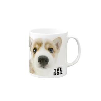 THE DOG[ウェルシュ・コーギー] マグカップ