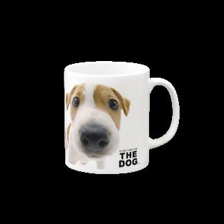 THE DOG and FriendsのTHE DOG[ジャック・ラッセル・テリア] マグカップ
