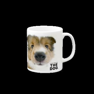 THE DOG and FriendsのTHE DOG[シェットランド・シープドッグ] マグカップ