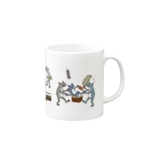 戯画風1 Mugs