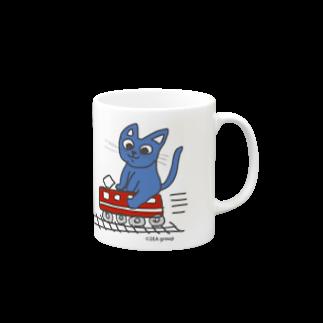 Official GOODS Shopの赤電のりてつニャーンコ Mugs