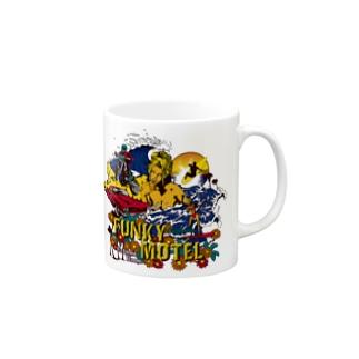FUNKY MOTEL マグカップ