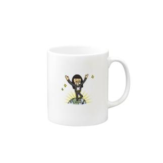 chihirotomitaの【ウシ子さん】とうちゃく Mugs