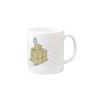 オクルスとキューブ Mugs