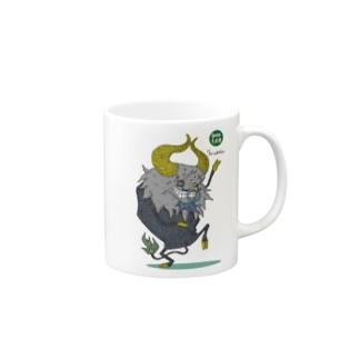ロックンロール バッファロー02 Mugs