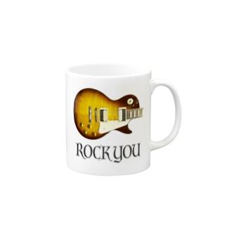 ROCK YOU 背景透過 Mugs