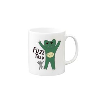 fuzzガエル2014 Mugs